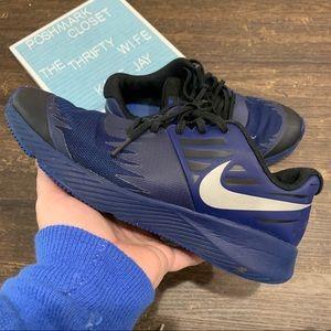 Nike Star Runner Reflective Blue & Black Size 8
